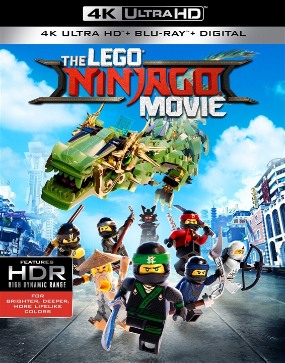 The LEGO Ninjago Movie 4K (2017) UHD Ultra HD Blu-ray