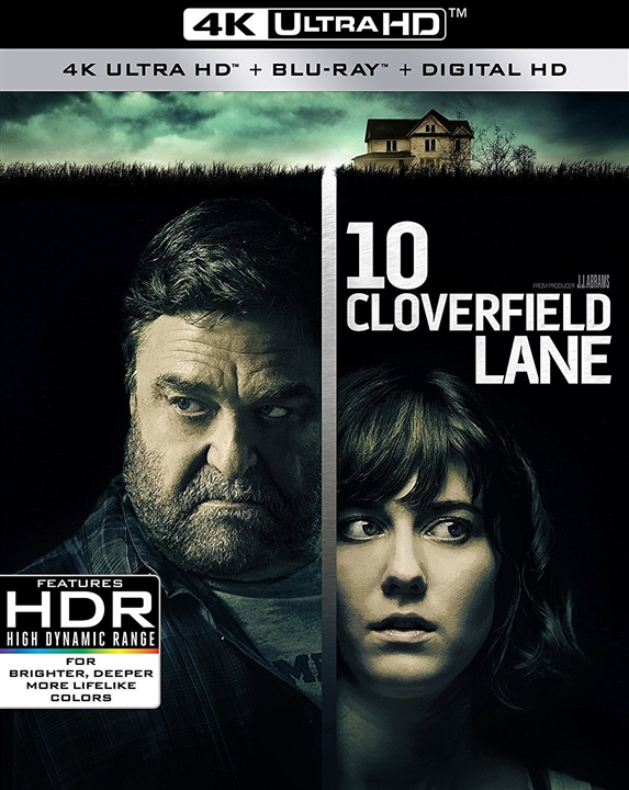 10 Cloverfield Lane (2016) 4K Ultra HD Blu-ray