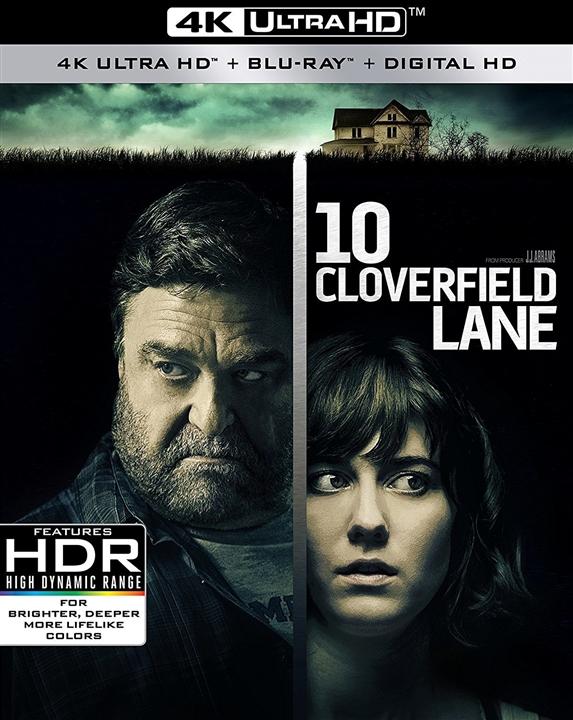 10 Cloverfield Lane (2016) 4K Ultra HD Blu-ray
