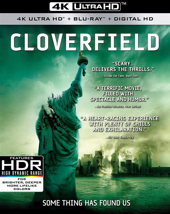 Cloverfield (2008) 4K Ultra HD Blu-ray
