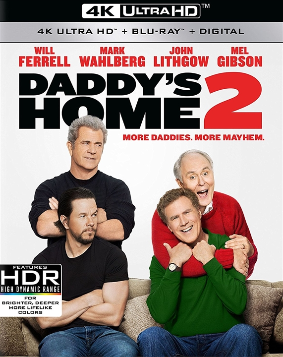 Daddys Home 2 4K (2017) UHD Ultra HD Blu-ray