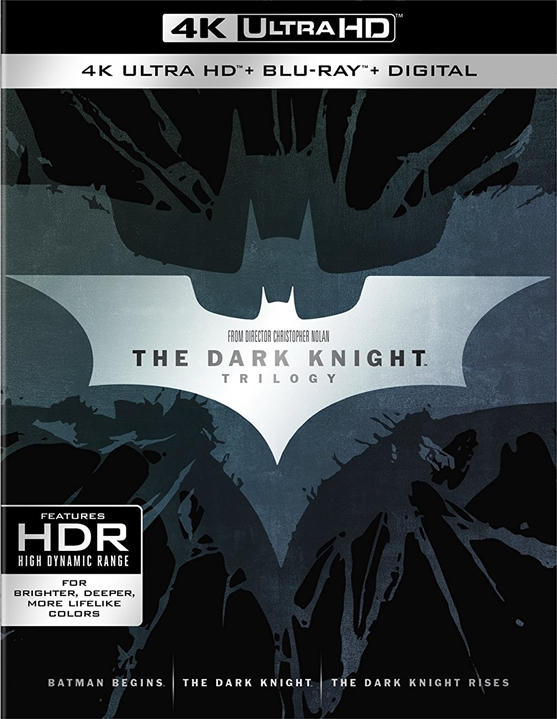 The Dark Knight Trilogy 4K (2005-2012) Ultra HD Blu-ray