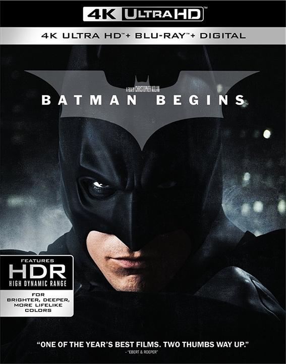 Batman Begins 4K (2005) Ultra HD Blu-ray