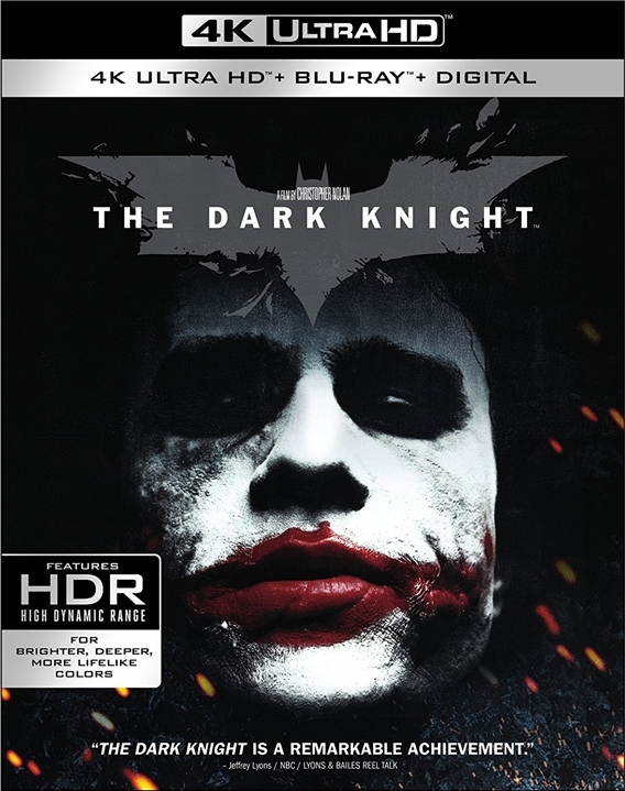 The Dark Knight 4K (2008) Ultra HD Blu-ray