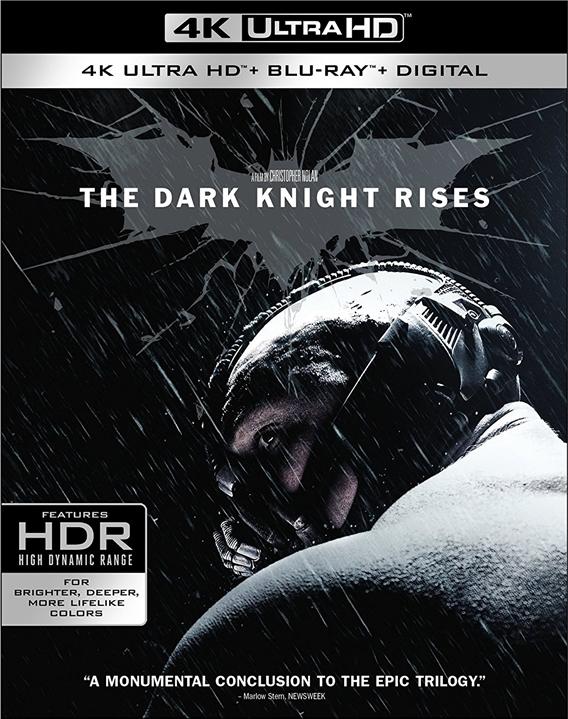 The Dark Knight Rises 4K (2012) Ultra HD Blu-ray