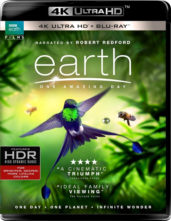 Earth: One Amazing Day 4K (2017) Ultra HD Blu-ray