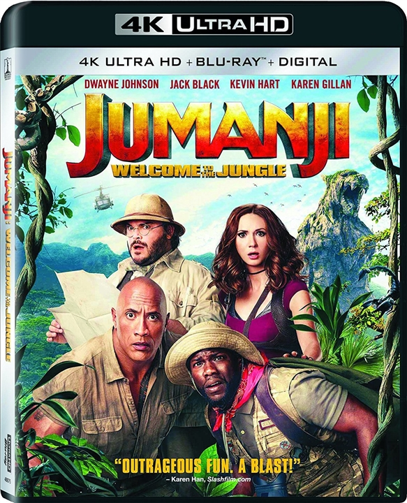 Jumanji: Welcome to the Jungle 4K (2017) Ultra HD Blu-ray