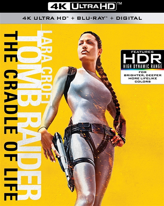 Lara Croft Tomb Raider: The Cradle of Life 4K (2003) UHD Ultra HD Blu-ray