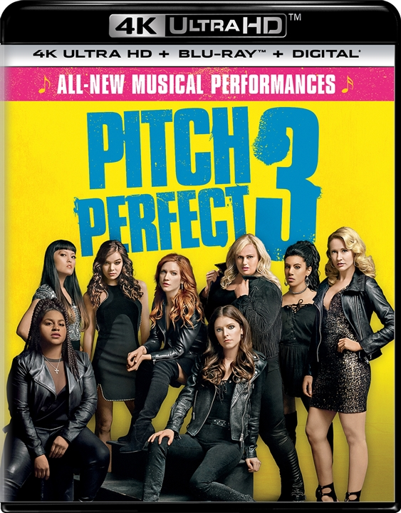 Pitch Perfect 3 (2017) 4K Ultra HD Blu-ray