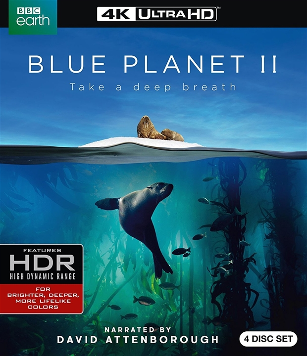 Blue Planet II 4K (2017) Ultra HD Blu-ray