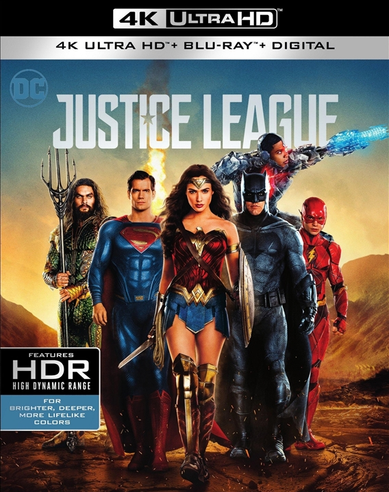 Justice League 4K (2017) UHD Ultra HD Blu-ray