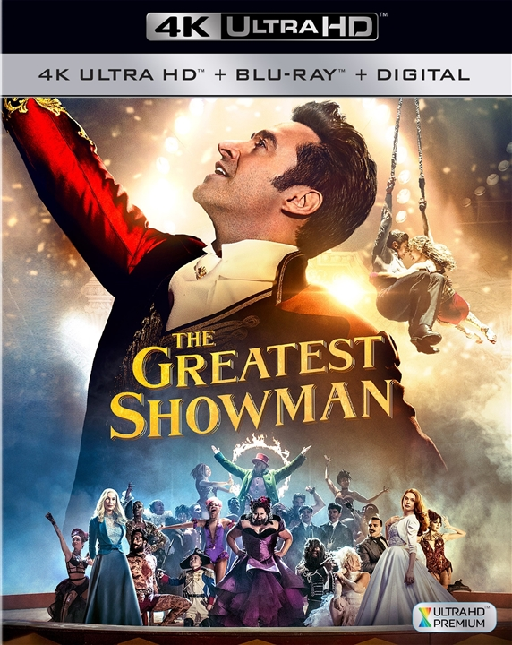 The Greatest Showman 4K (2017) 4K Ultra HD Blu-ray