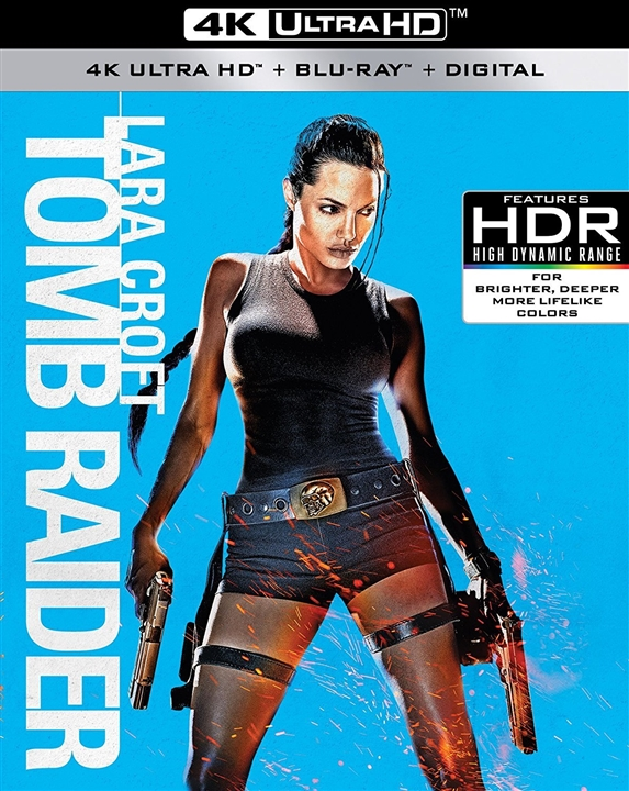 Lara Croft: Tomb Raider 4K (2001) 4K Ultra HD Blu-ray