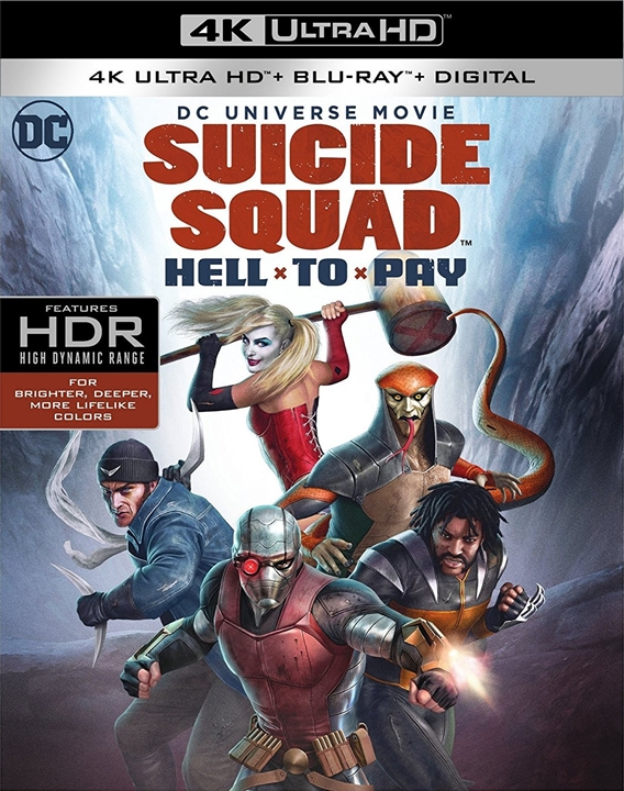 Suicide Squad: Hell to Pay 4K (2018) 4K Ultra HD Blu-ray