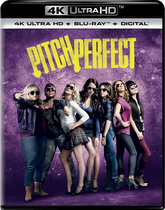 Pitch Perfect (2012) 4K Ultra HD Blu-ray