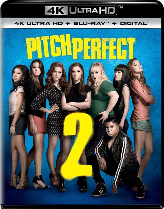 Pitch Perfect 2 (2015) 4K Ultra HD Blu-ray