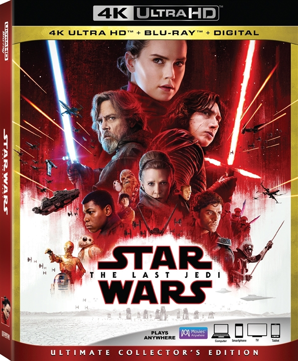 Star Wars: Episode VIII - The Last Jedi 4K (2017) Ultra HD Blu-ray