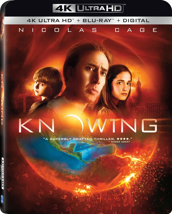 Knowing (2009) 4K Ultra HD Blu-ray