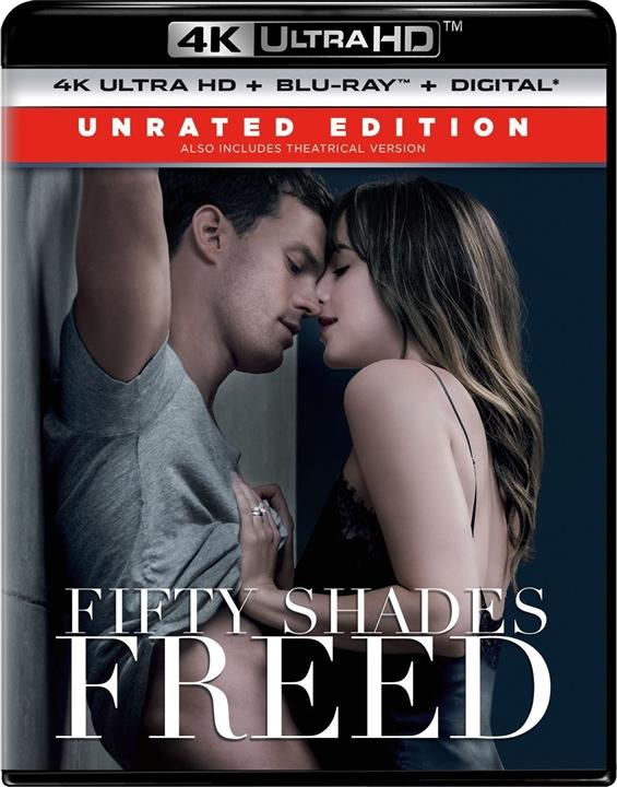 Fifty Shades Freed 4K (2018) Ultra HD Blu-ray