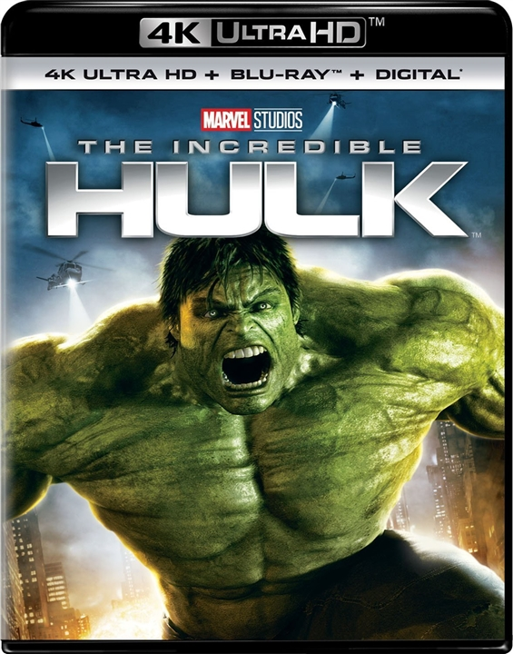 The Incredible Hulk 4K (2008) Ultra HD Blu-ray