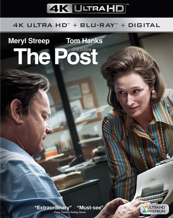 The Post 4K (2017) Ultra HD Blu-ray