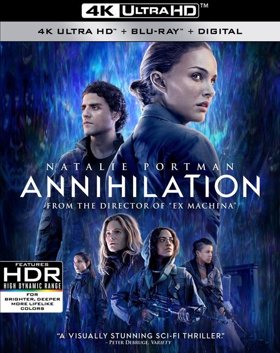 Annihilation (2018) 4K Ultra HD Blu-ray