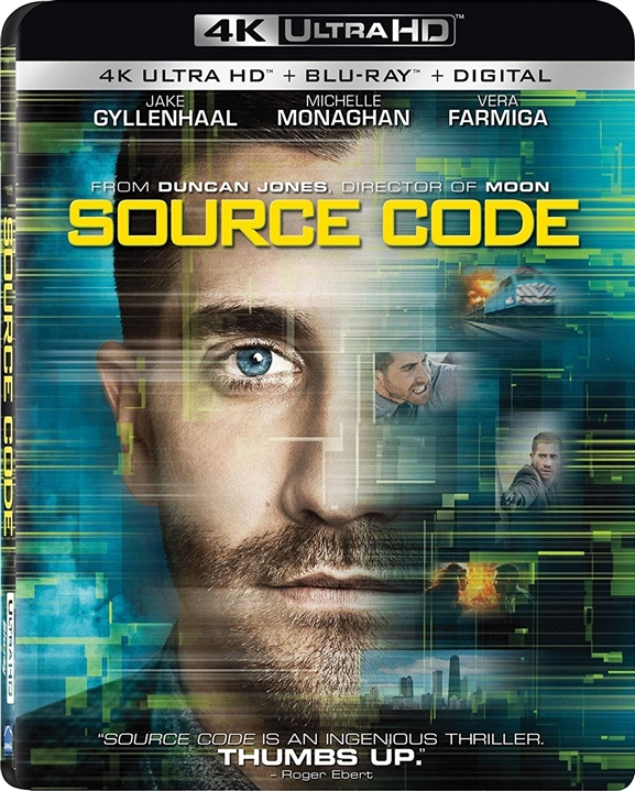 Source Code 4K (2011) Ultra HD Blu-ray