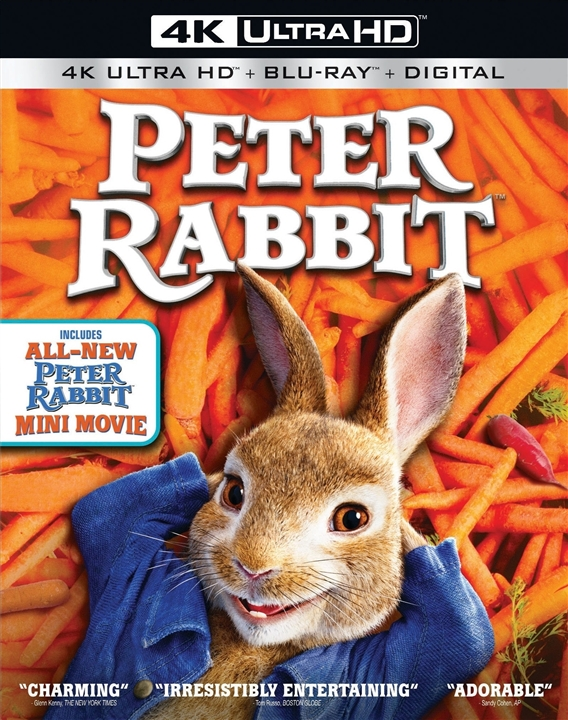 Peter Rabbit 4K (2018) Ultra HD Blu-ray