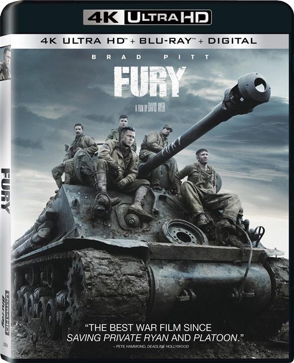 Fury (2014) 4K Ultra HD Blu-ray