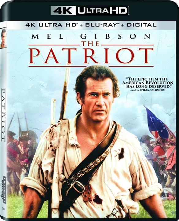 The Patriot (2000) 4K Ultra HD Blu-ray