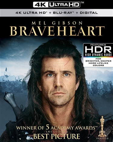 Braveheart 4K (1995) Ultra HD Blu-ray
