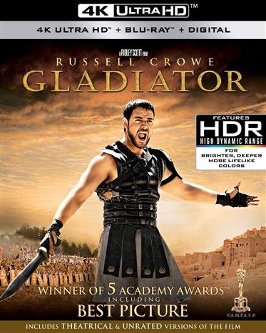 Gladiator 4K (2000) Ultra HD Blu-ray