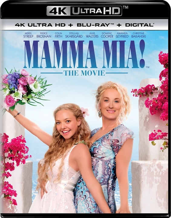 Mamma Mia! The Movie 4K (10th Anniversary Edition)(2008) Ultra HD Blu-ray