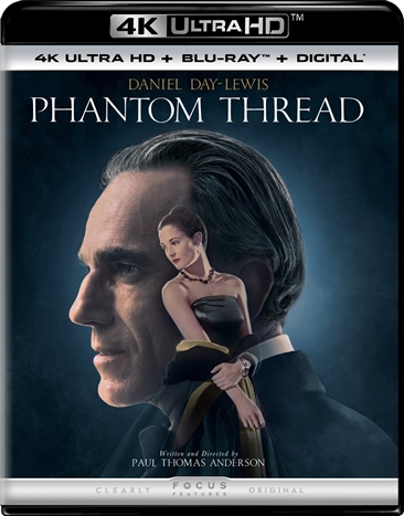 Phantom Thread (2017) 4K Ultra HD Blu-ray