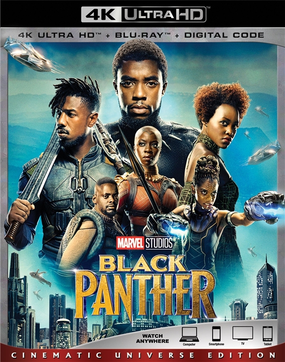 Black Panther 4K (2018) Ultra HD Blu-ray