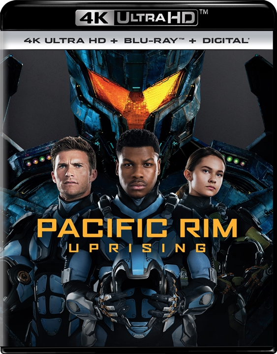 Pacific Rim 2: Uprising 4K (2018) Ultra HD Blu-ray