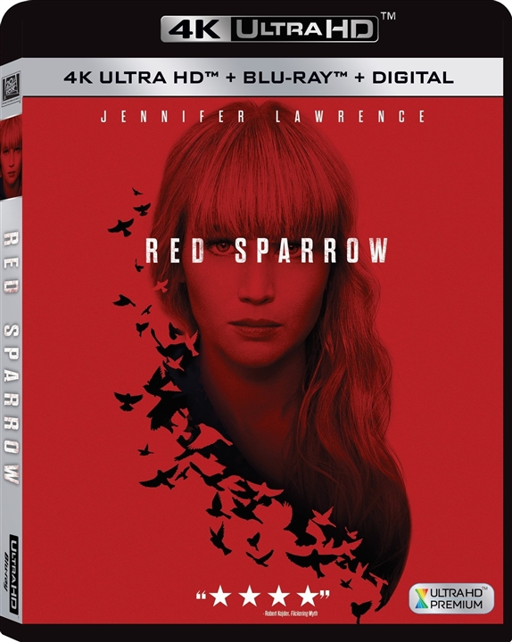 Red Sparrow 4K (2018) Ultra HD Blu-ray