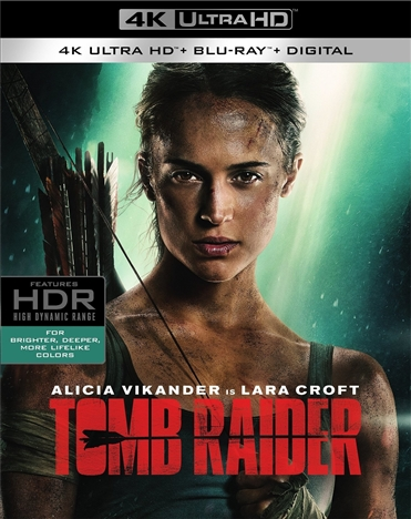 Tomb Raider 4K (2018) Ultra HD Blu-ray