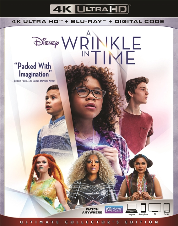 A Wrinkle in Time 4K (2018) Ultra HD Blu-ray