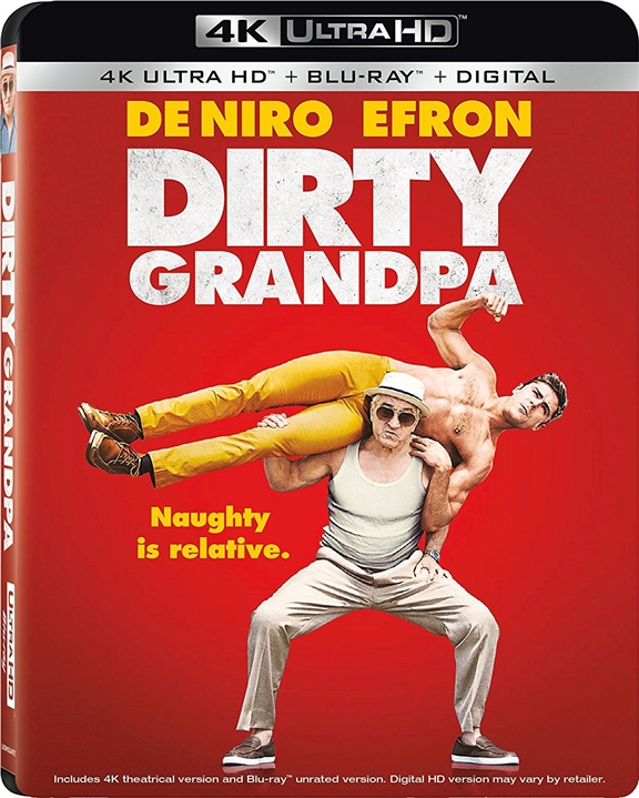 Dirty Grandpa (2016) 4K Ultra HD Blu-ray