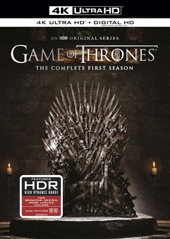 Game of Thrones: The Complete First Season 4K (TV) (2011) Ultra HD Blu-ray