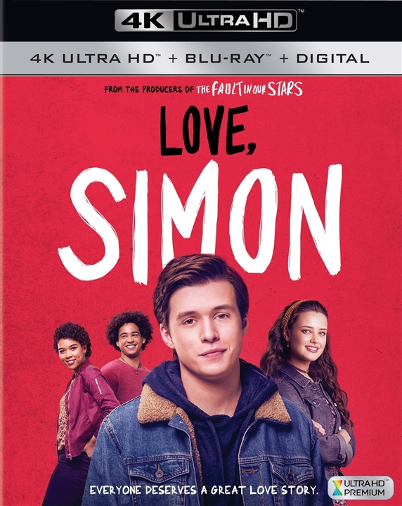 Love, Simon 4K (2018) Ultra HD Blu-ray