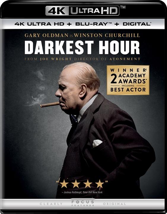 Darkest Hour 4K (2017) Ultra HD Blu-ray