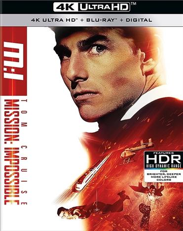 Mission: Impossible 4K (1996) Ultra HD Blu-ray