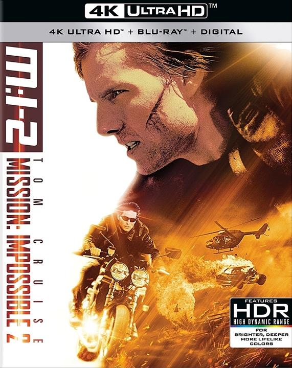 Mission Impossible II 2000 Multi UHD 2160p Bluray HDR Remux TrueHD 5.1-DTOn | 49 GB |