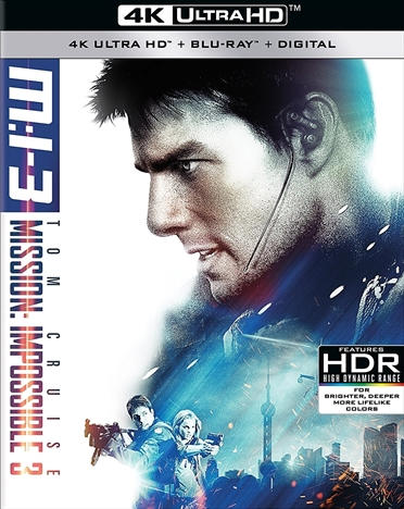 Mission: Impossible III 4K (2006) Ultra HD Blu-ray