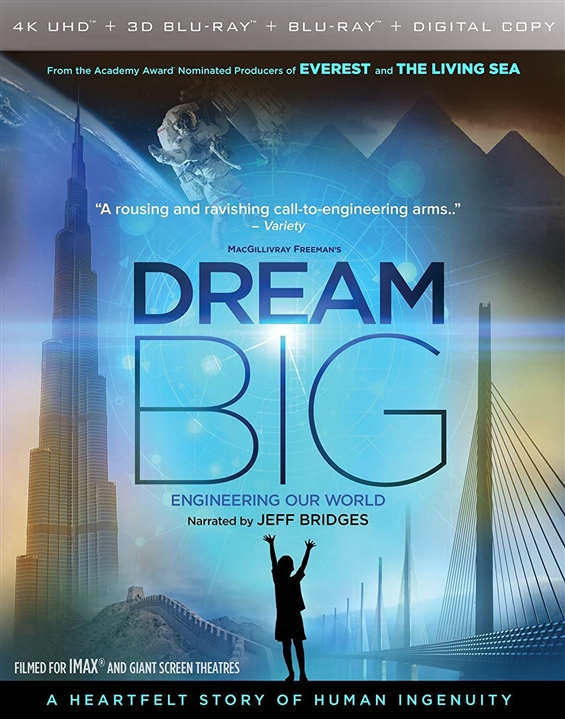 Dream Big: Engineering Our World (2017) 4K Ultra HD Blu-ray