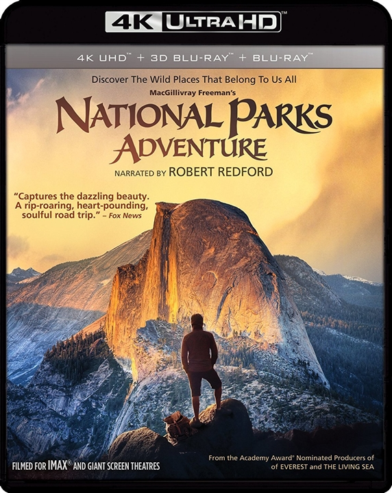 National Parks Adventure 4K Ultra HD Blu-ray