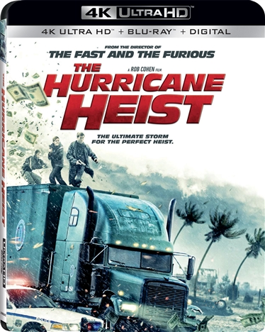 The Hurricane Heist (2018) 4K Ultra HD Blu-ray