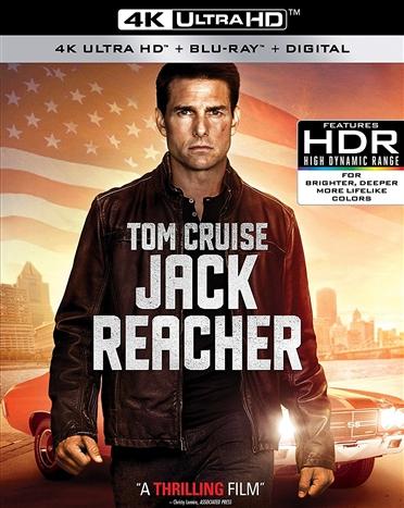 Jack Reacher 4K (2012) Ultra HD Blu-ray